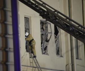 Teile eines Uni-Gebäudes in St. Petersburg eingestürzt