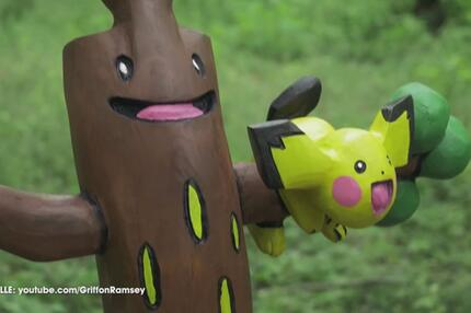 Pokemon-Kettensägen-Challenge