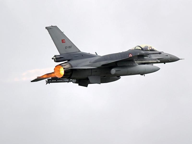 Bild zu Türkisches Kampfflugzeug