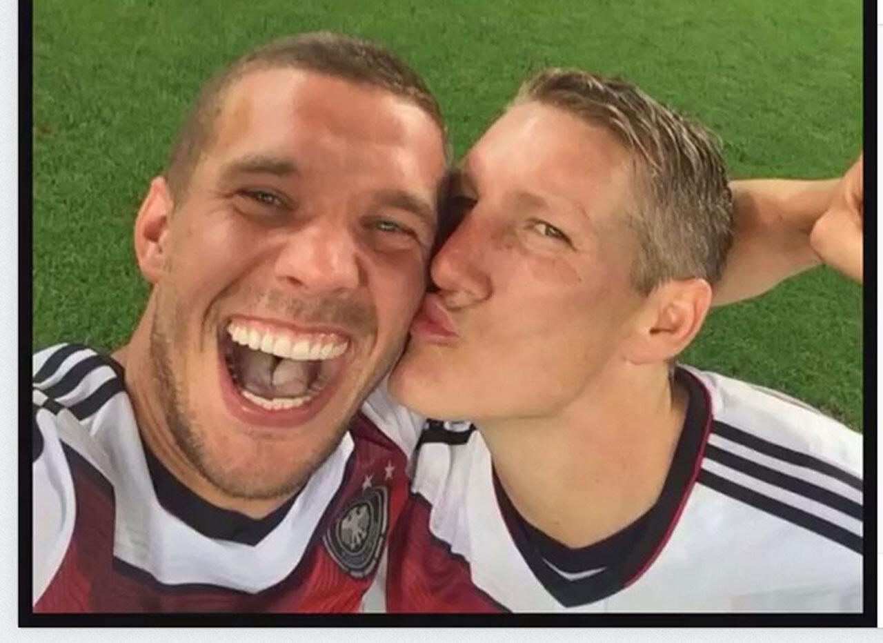 Bild zu Bussi für Poldi