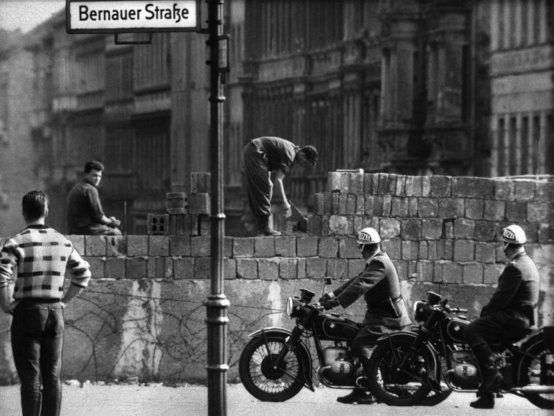 Bild zu Bernauer Straße im Jahr 1961
