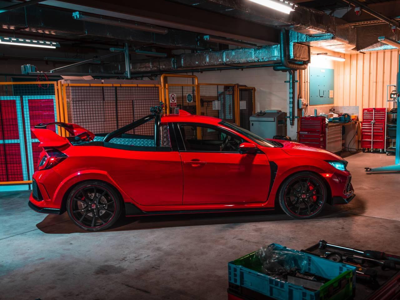 Bild zu Honda Civic Type R Pickup