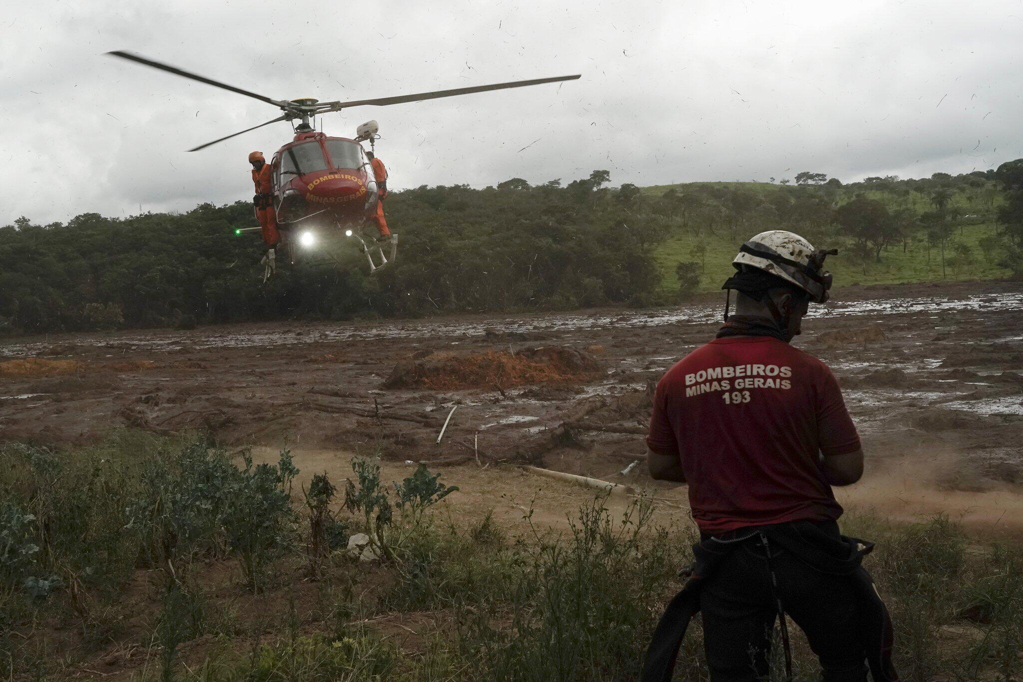 Bild zu Damm an Eisenerzmine in Brasilien gebrochen