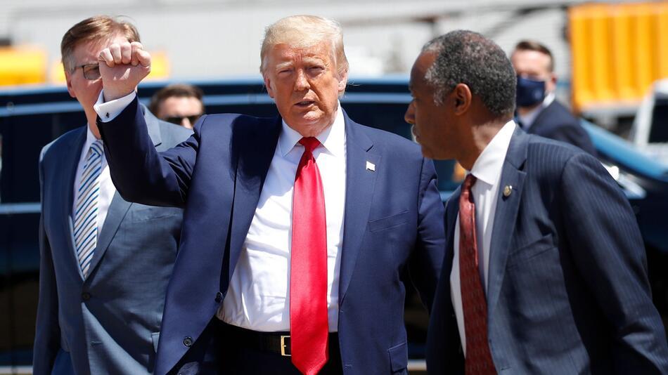 US-Präsident Trump in Texas