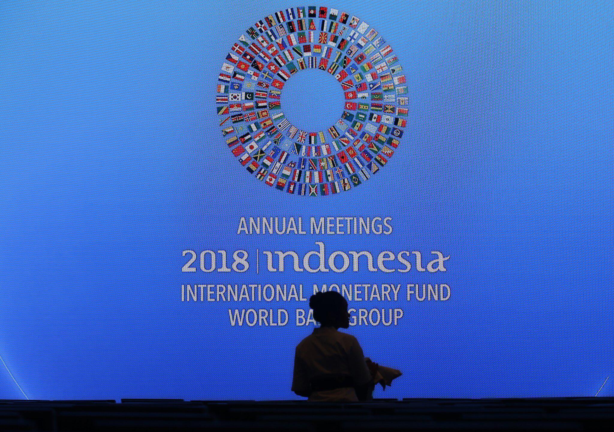 Bild zu IWF stellt Weltwirtschaftsbericht auf Bali vor