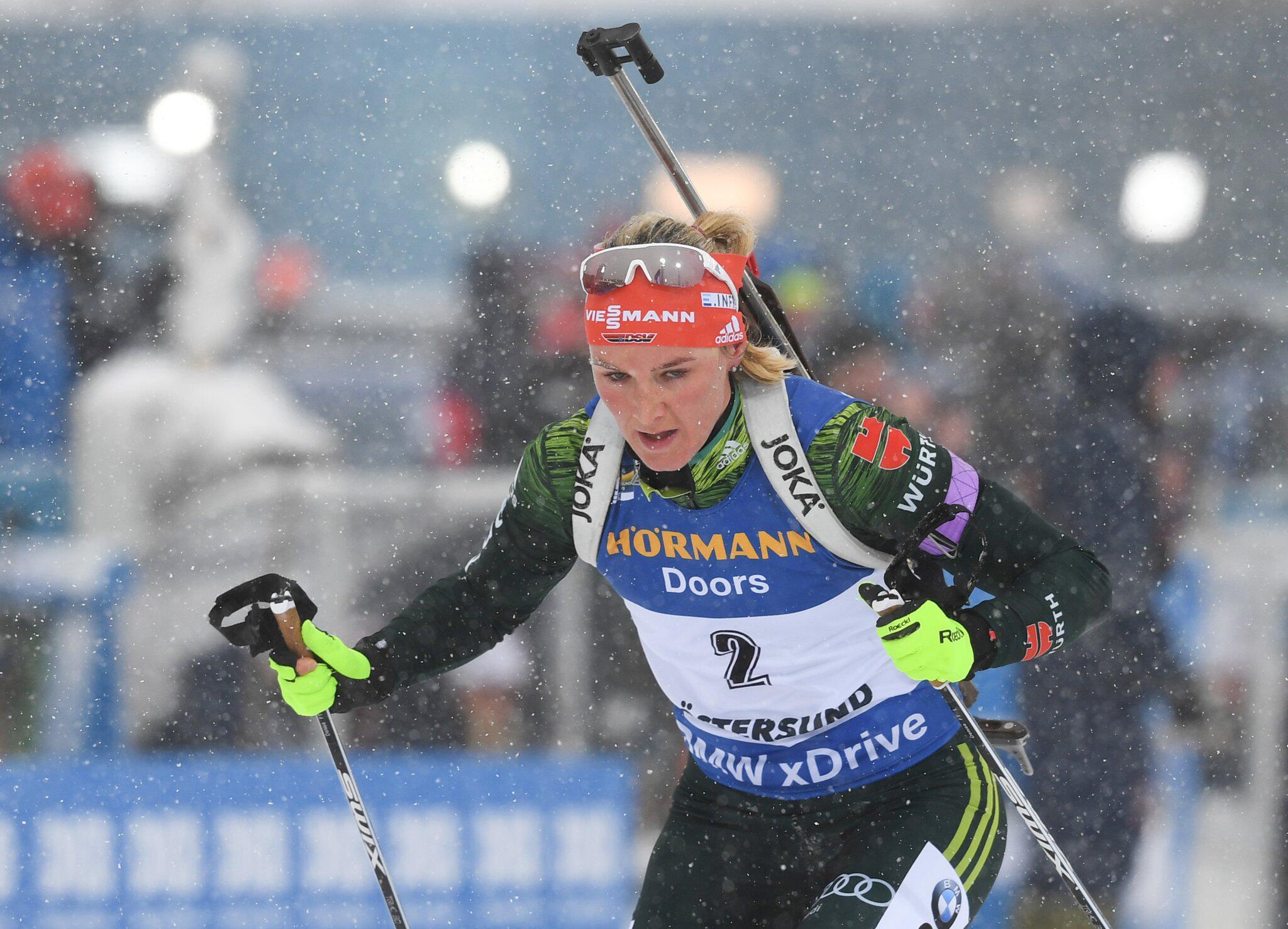 Bild zu Biathlon-WM, Denise Herrmann