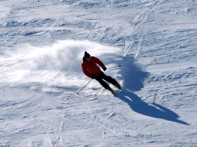 Bild zu Skifahren im Frühjahr