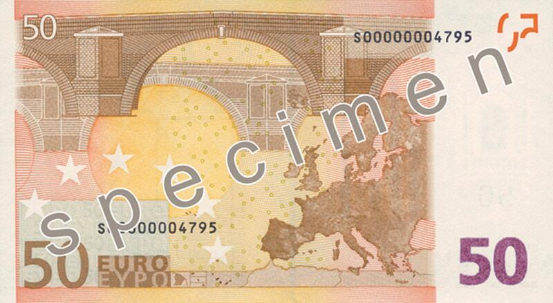 Bild zu 50-Euro-Schein