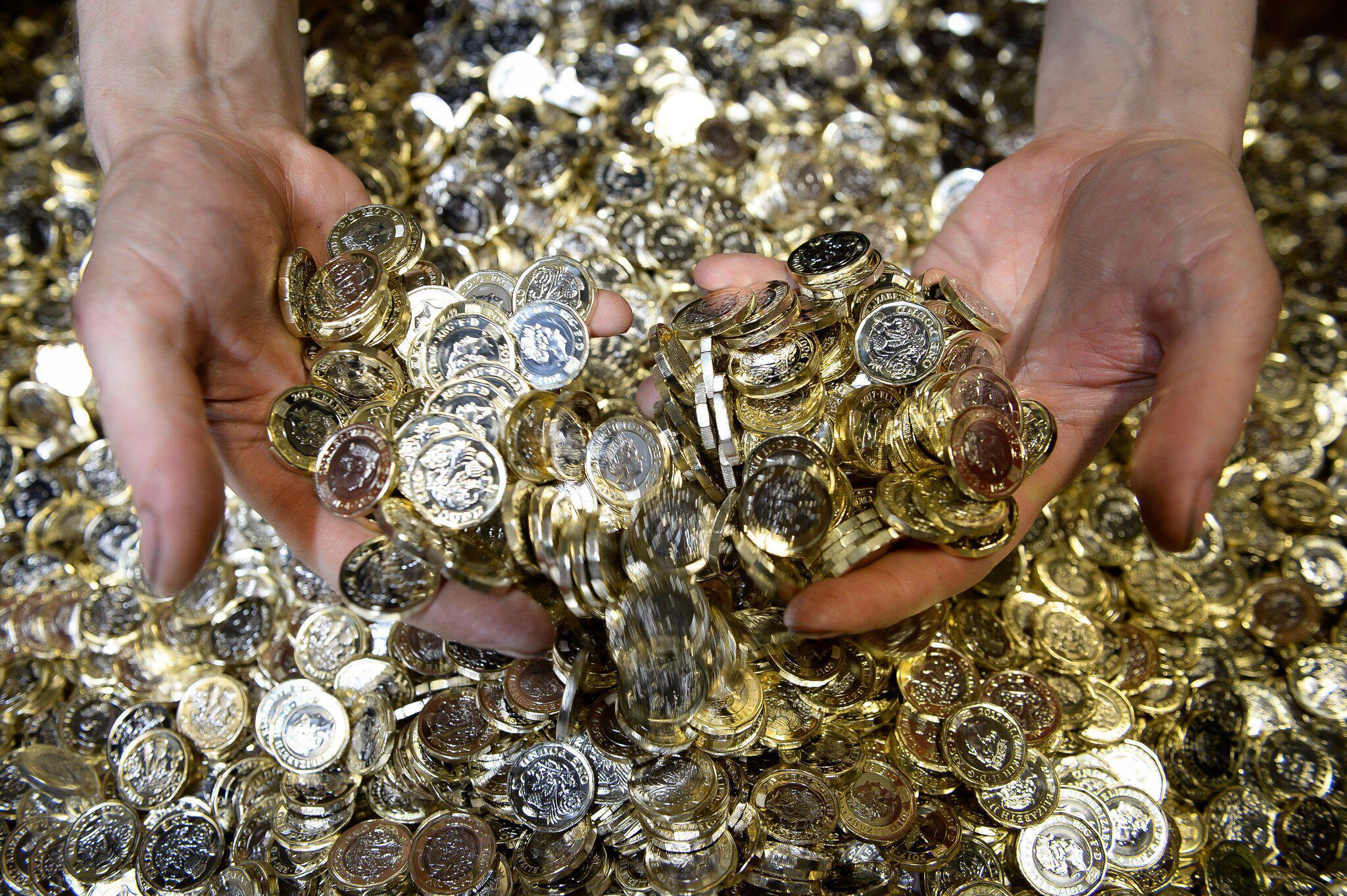 Bild zu Neue Ein-Pfund-Münze