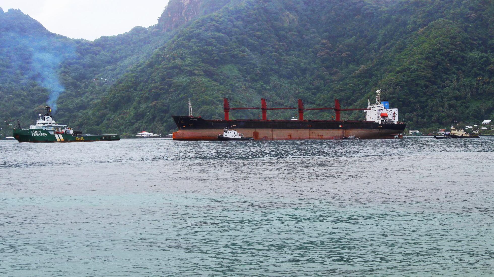 Bild zu Nordkoreanisches Frachtschiff