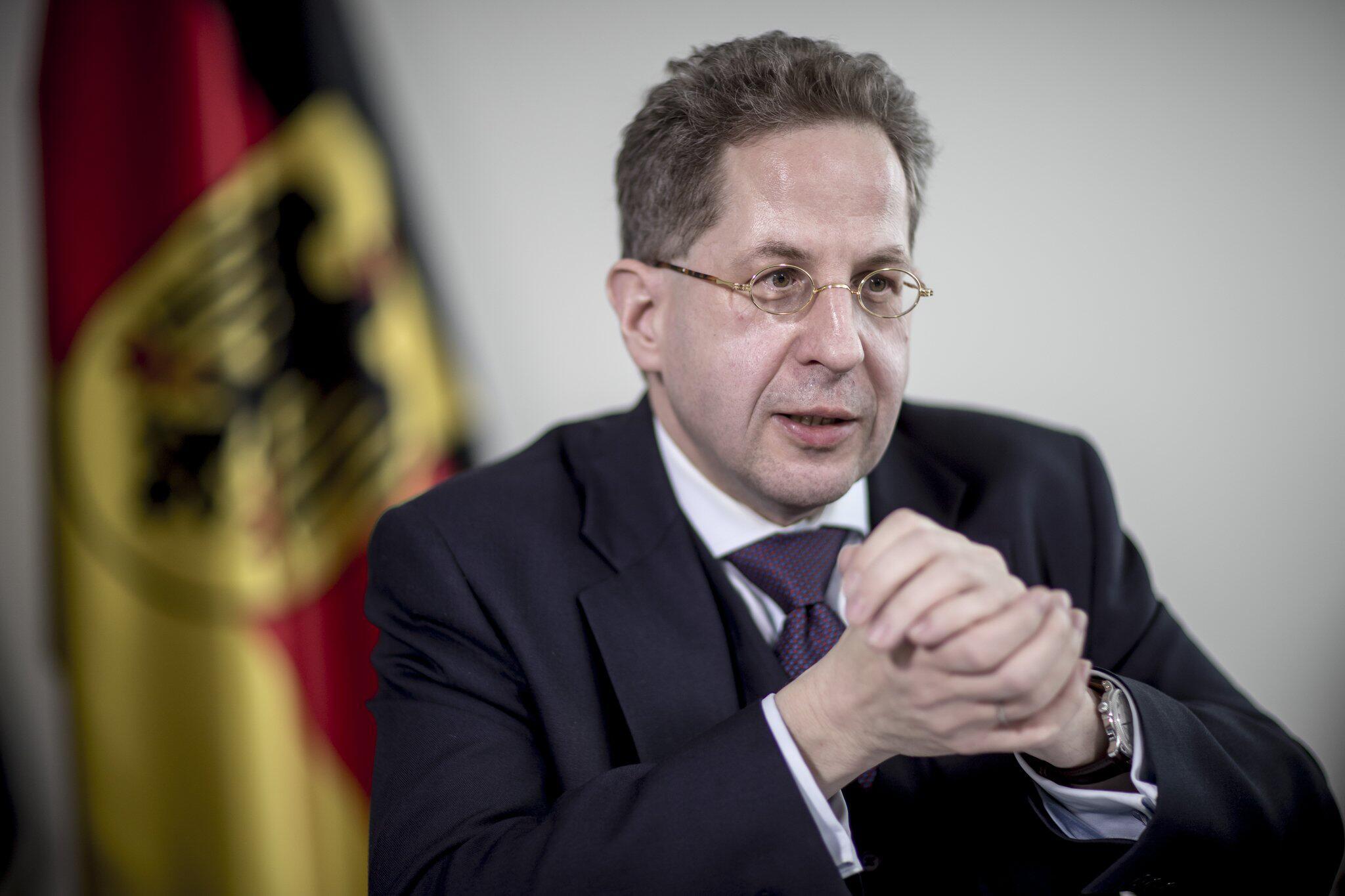 Bild zu Verfassungsschutzpräsident Hans-Georg Maaßen