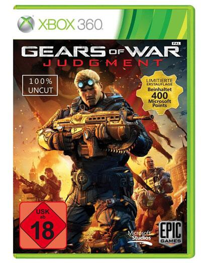 "Bild zu ""Gears of War: Judgment"" - Packshot"