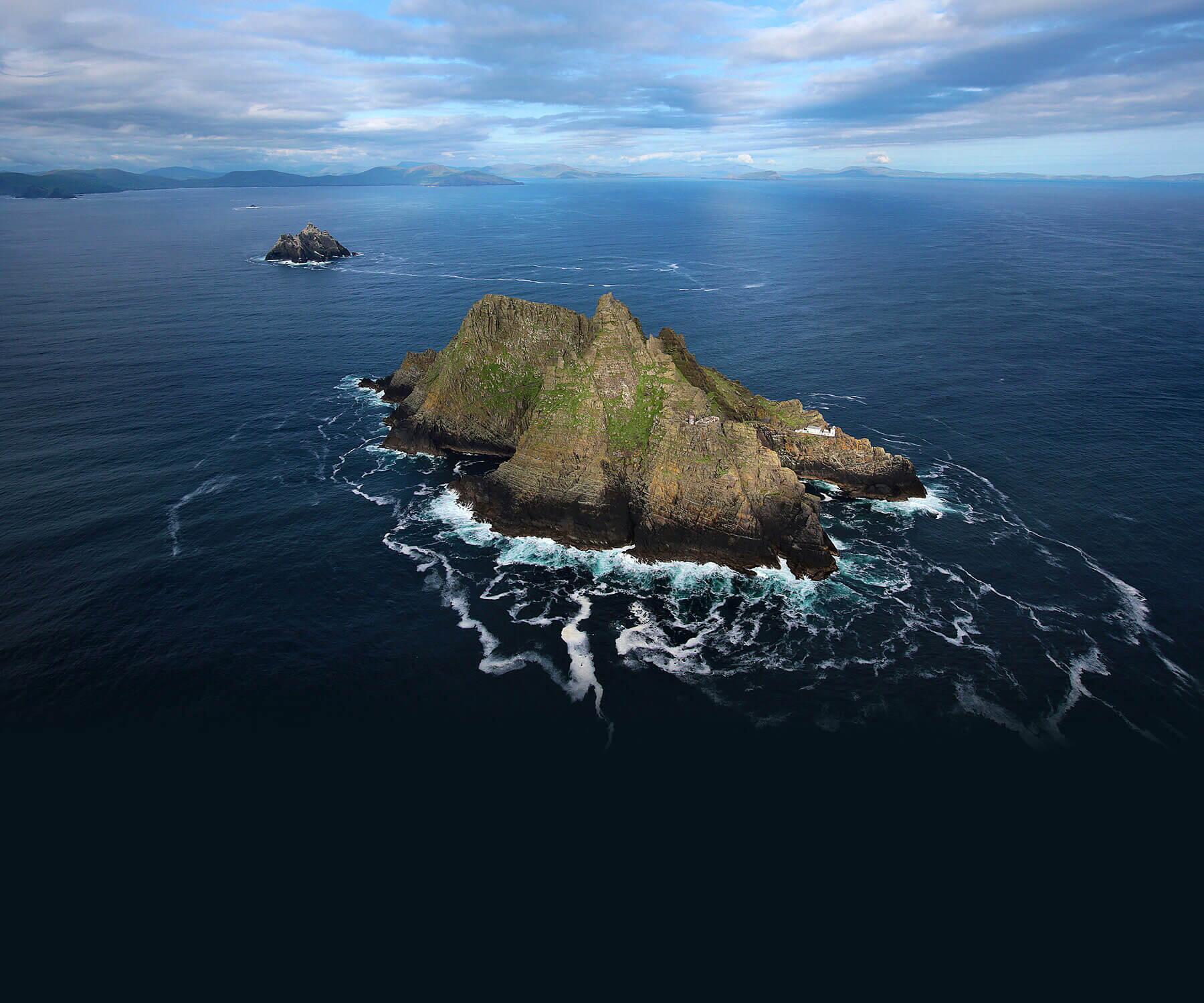 Bild zu Auf dieser nordirischen Insel wurde Star Wars gedreht