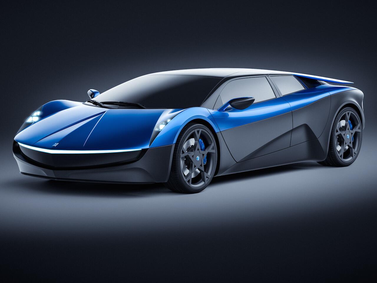 Bild zu Elextra Electric Supercar