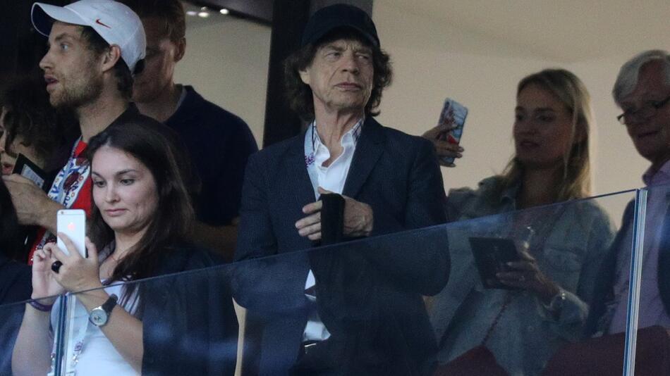 WM 2018 - Kroatien - England, Mick Jagger