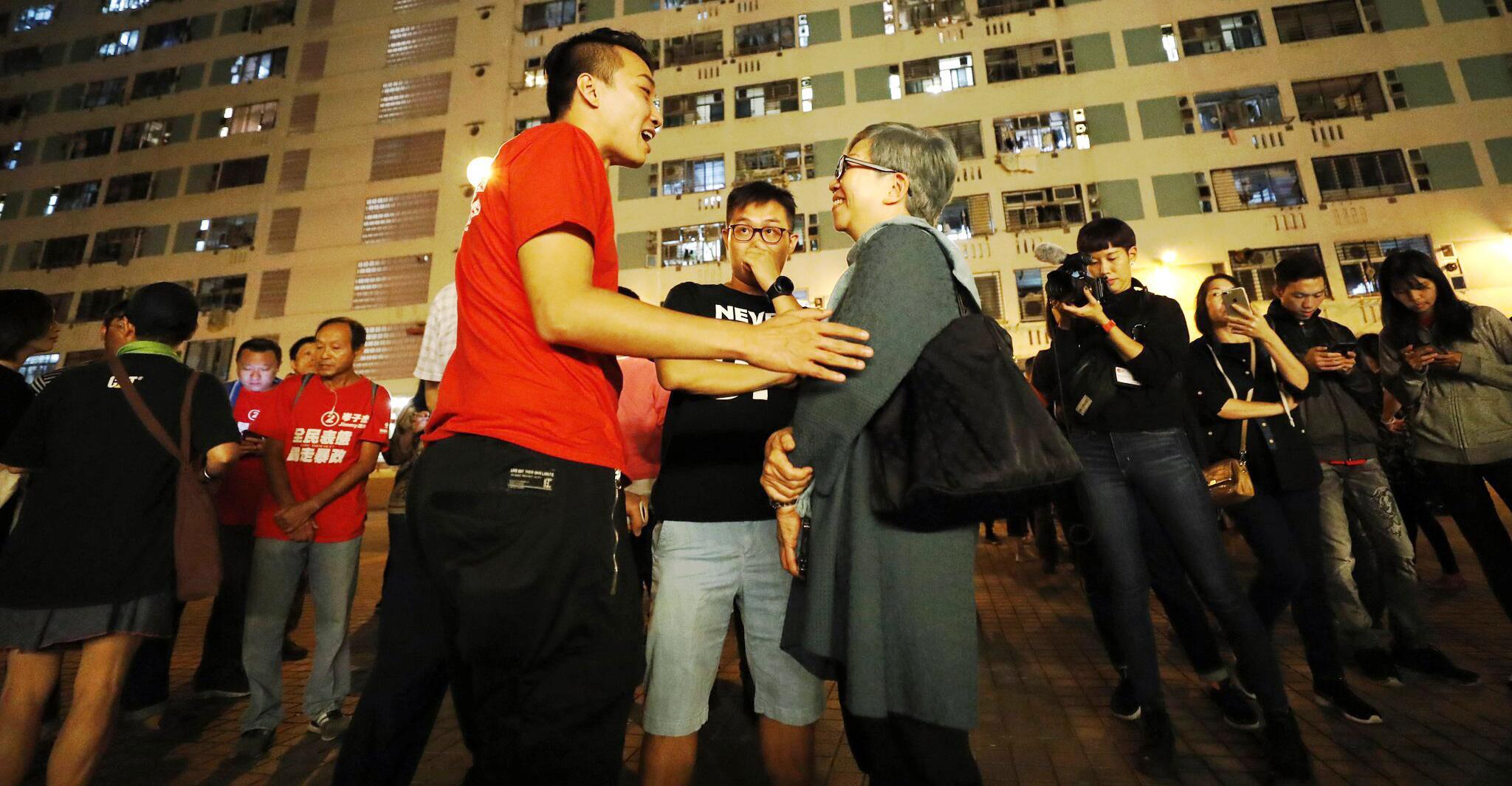 Bild zu Lokalwahlen in Hongkong