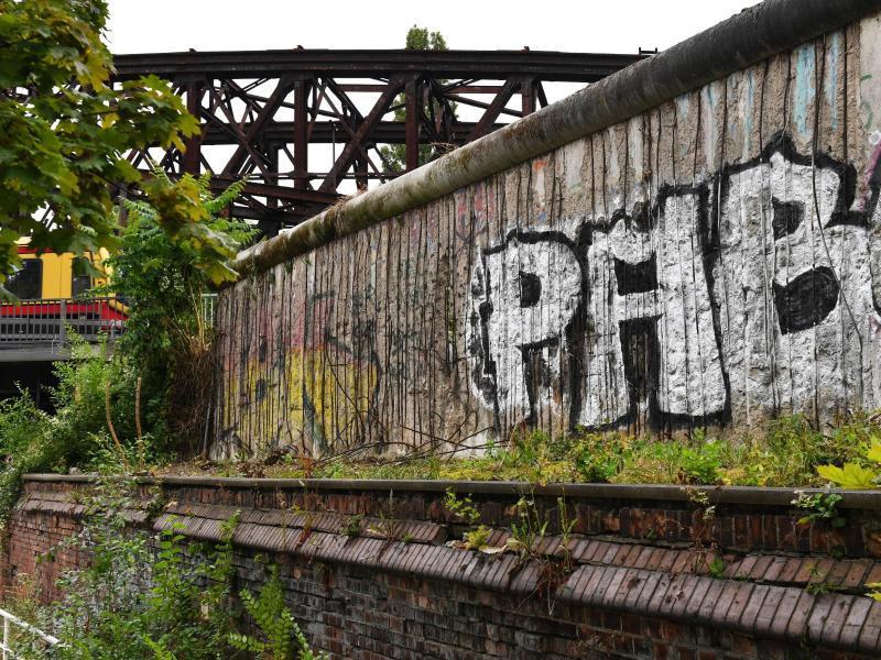 Bild zu Mauerreste in Berlin
