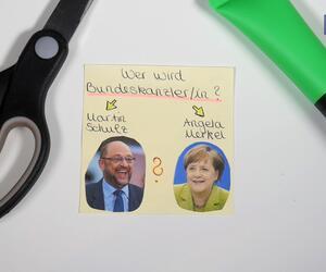 Bundestagswahl, Angela Merkel, Martin schulz