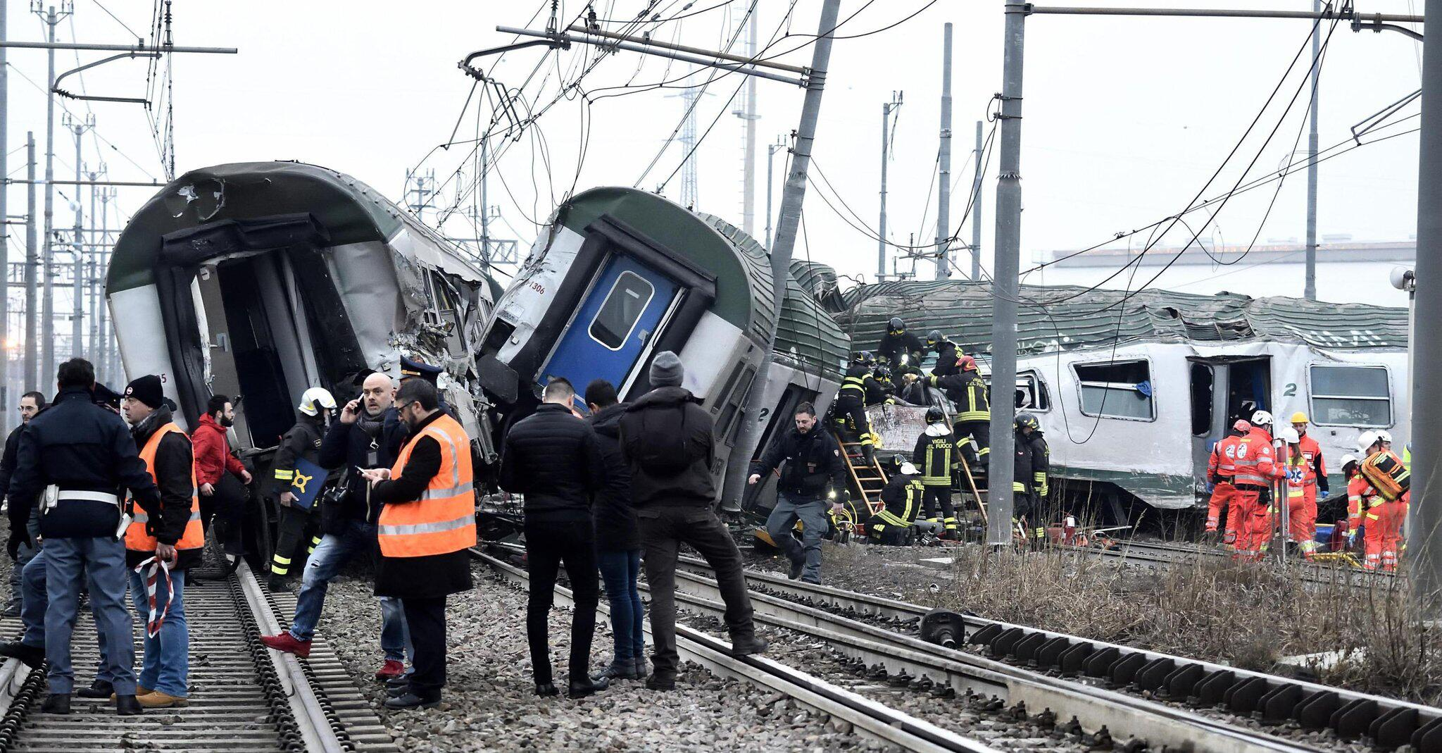 Bild zu Zugunfall in Italien