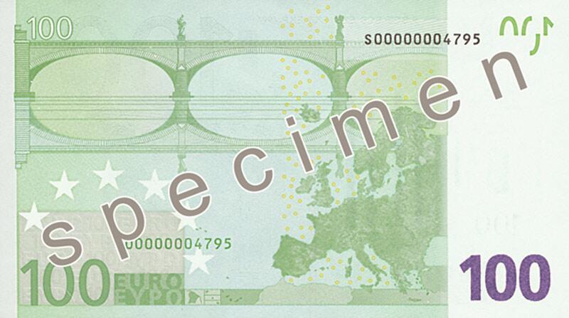 Bild zu 100-Euro-Schein
