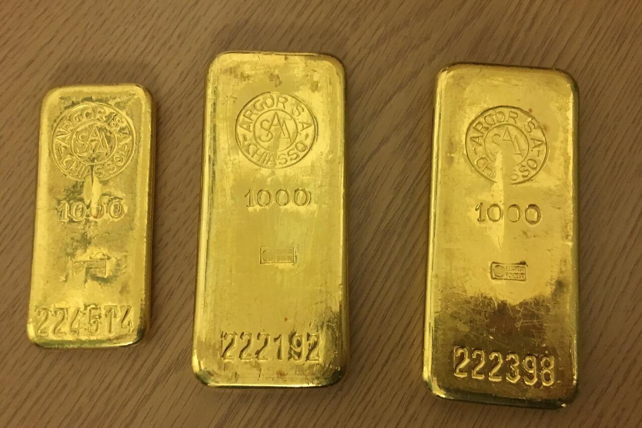 Bild zu Goldbarren gefunden