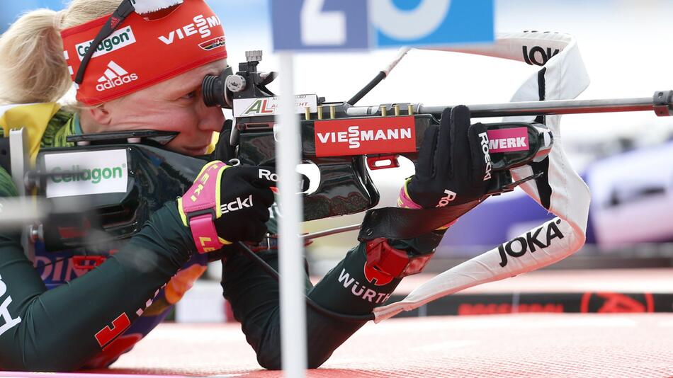 Biathlon, Weltcup, Slowenien, Pokljuka, Franziska Hildebrand, Mixed, Staffel