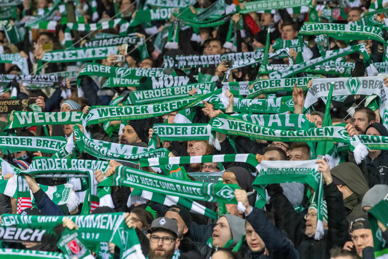 Bild zu Fans vom SV Werder Bremen.