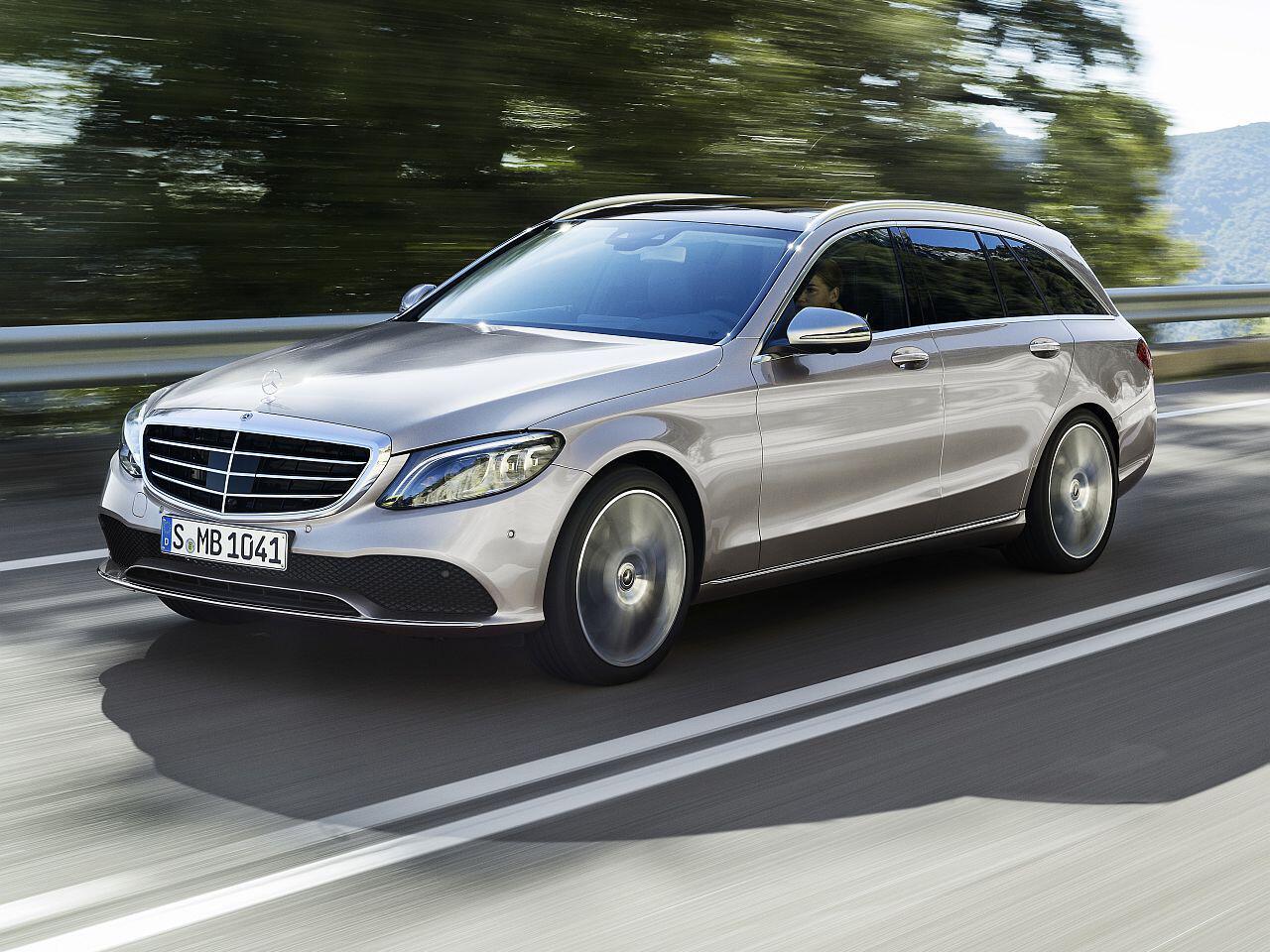 Bild zu Mercedes-Benz C-Klasse Facelift