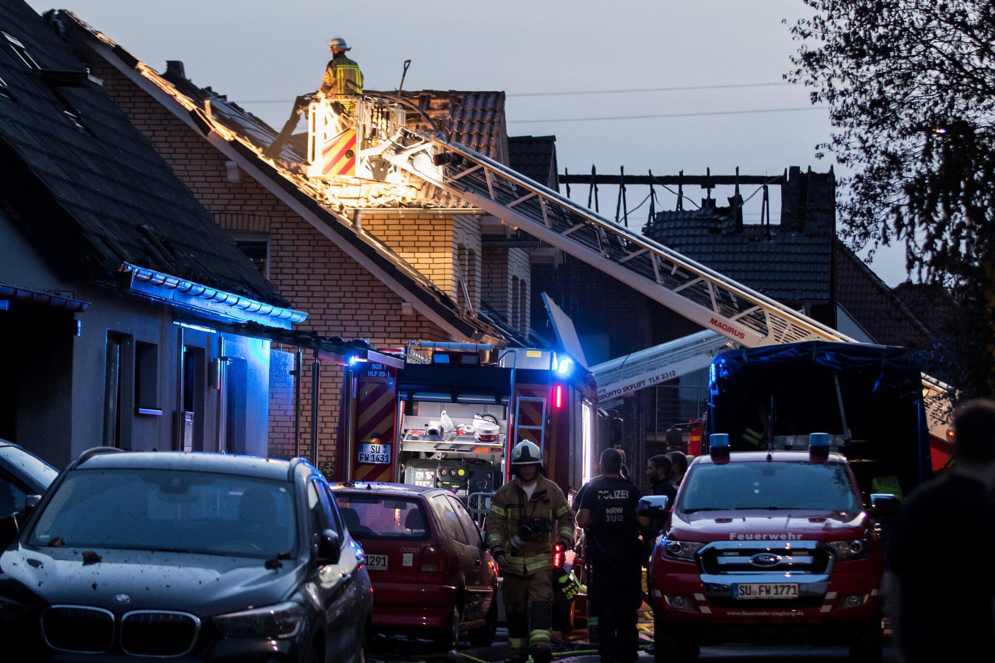 Bild zu Fire in Siegburg
