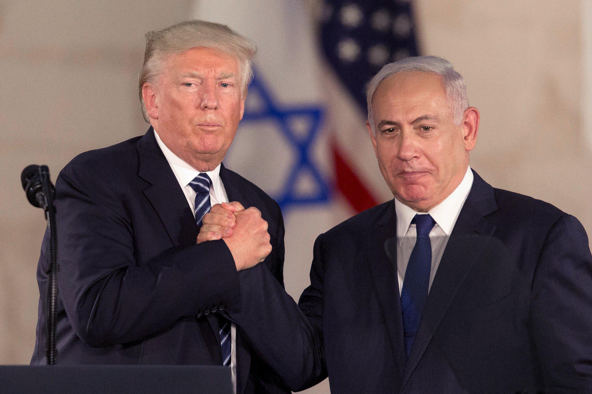 Bild zu US-Präsident Trump und Israels Ministerpräsident