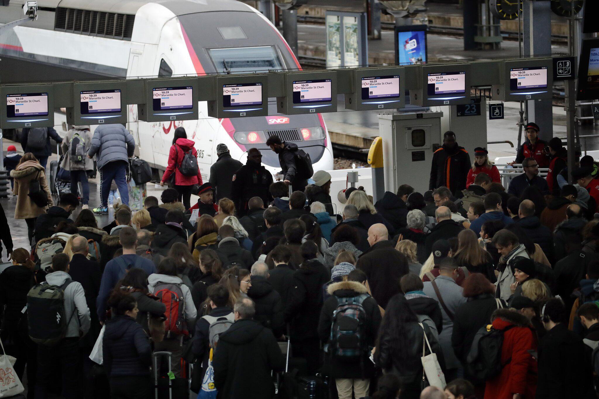 Bild zu Streiks in Frankreich