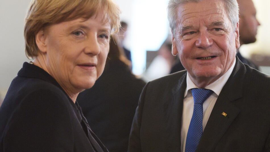 Angela Merkel, Joachim Gauck