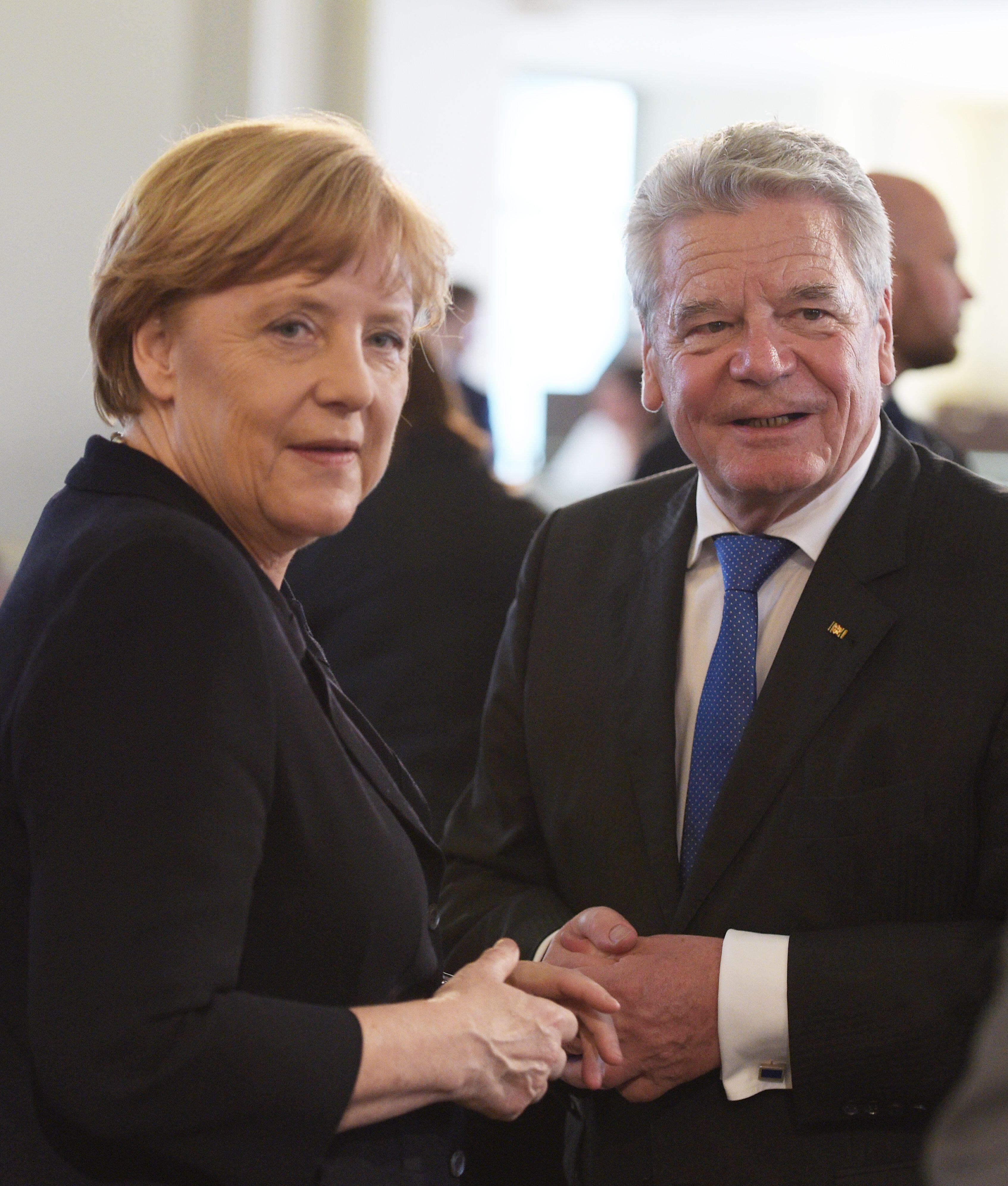 Bild zu Angela Merkel, Joachim Gauck