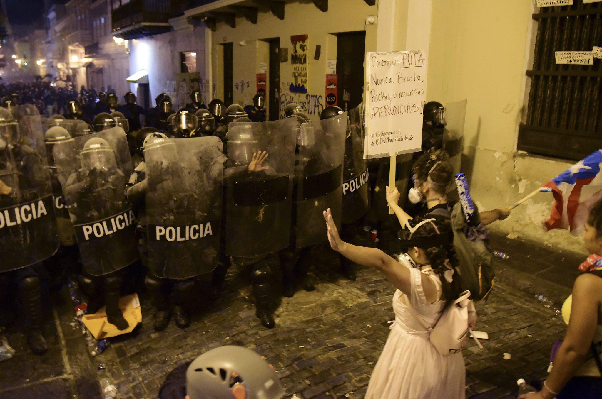 Bild zu Großdemo gegen Regierung in Puerto Rico