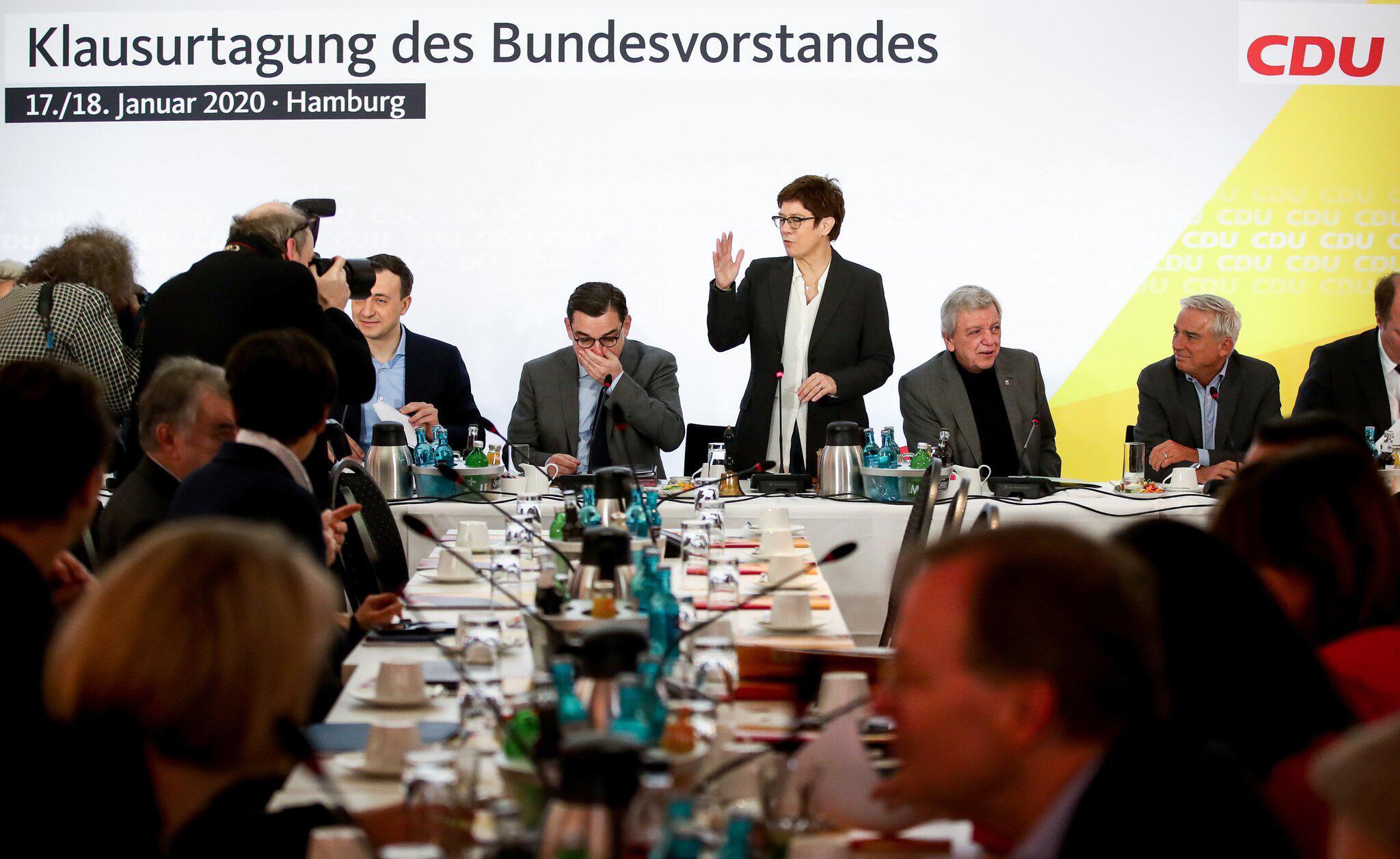 Bild zu Abschluss Jahresanfangs-Klausur des CDU-Vorstands