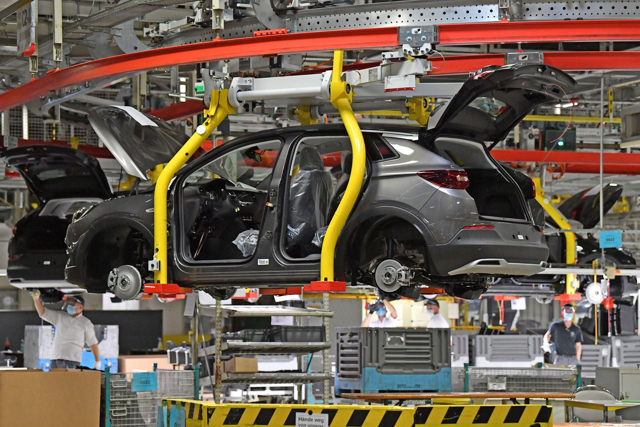 Bild zu Opel - Produktion