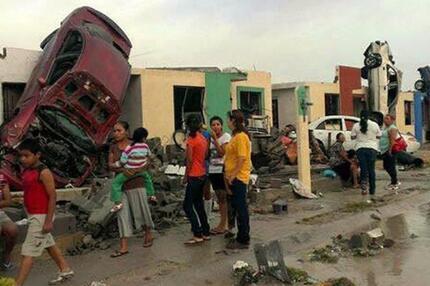 Tornado in Mexico