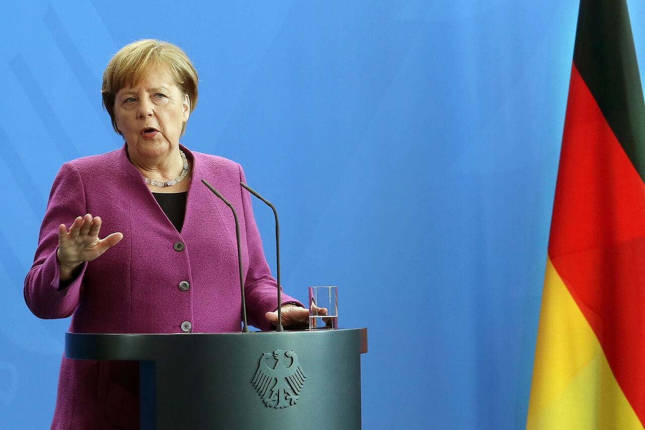Bild zu German Chancellor meets Danish Prime Minister