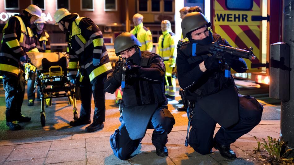 Anti-Terrorübung in München