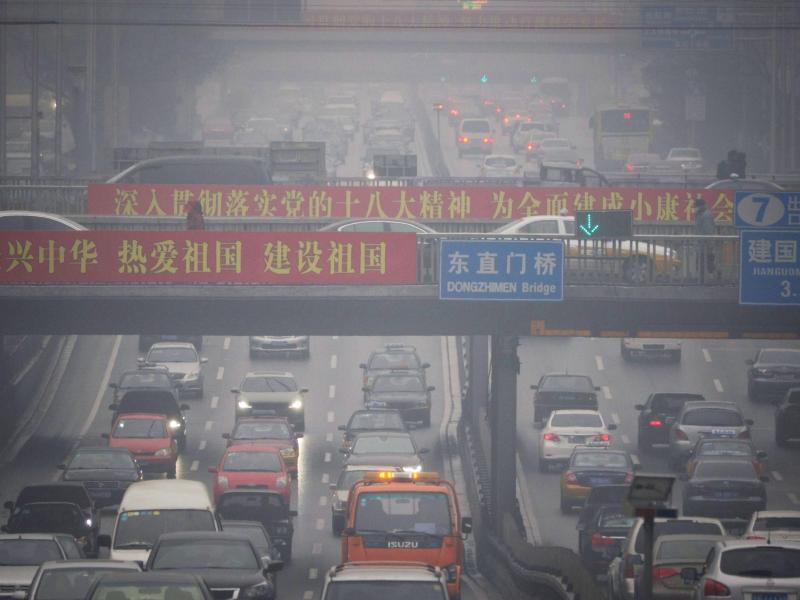 Bild zu Verkehr in Peking