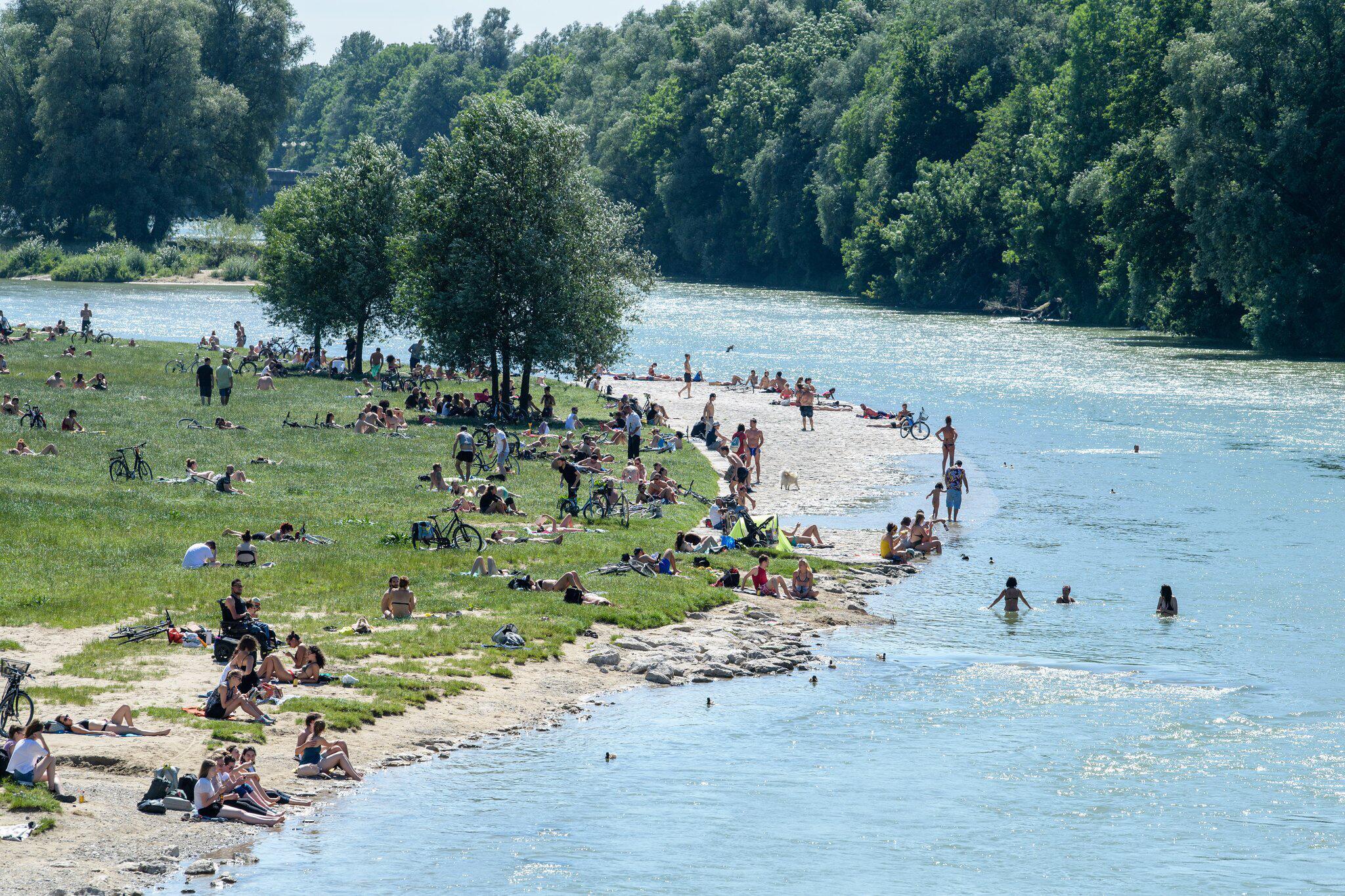 Bild zu Hitze in Deutschland
