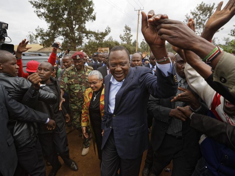 Bild zu Uhuru Kenyatta