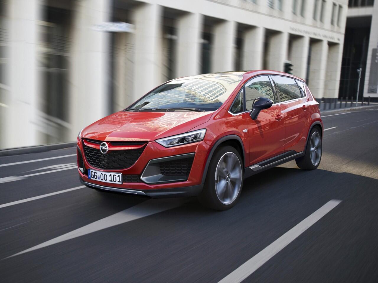 Bild zu Opel Activa: Crossover aus Van und SUV