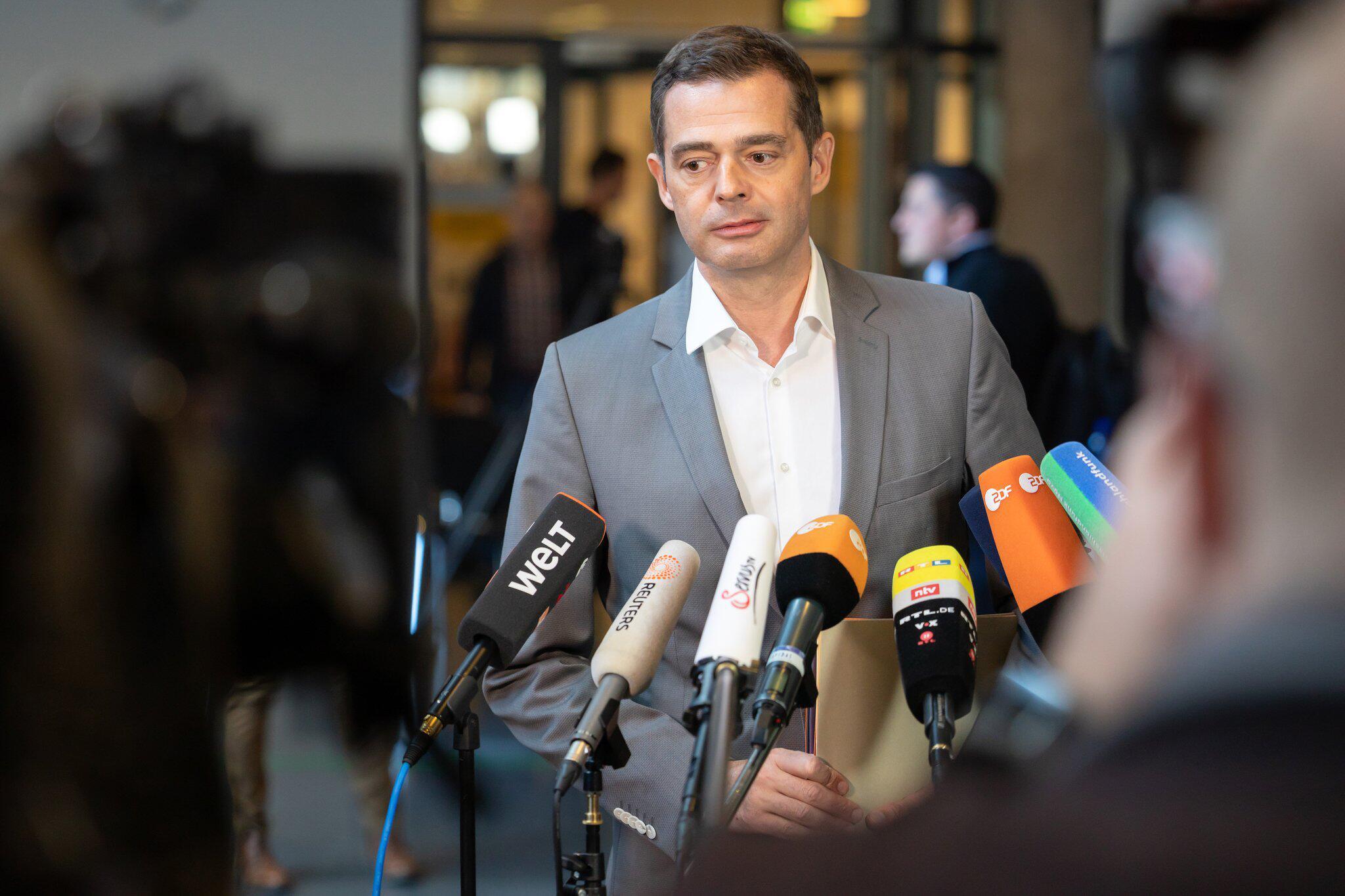 Bild zu Fraktionssitzungen im Thüringer Landtag - CDU