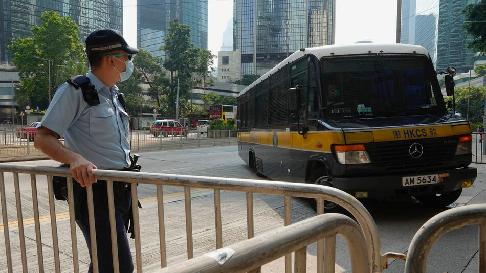 Erstes Urteil in Hongkong nach umstrittenem Sicherheitsgesetz