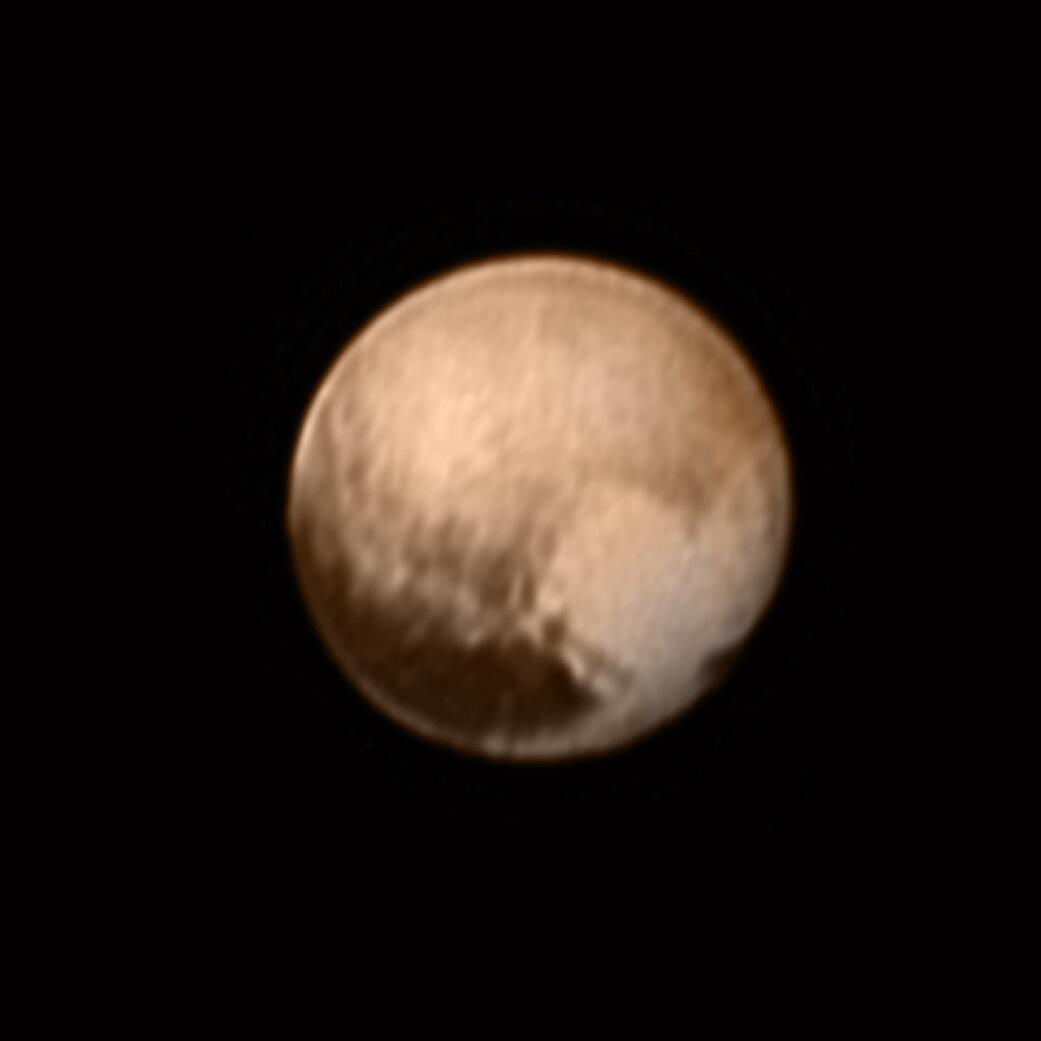 Bild zu Pluto from New Horizons