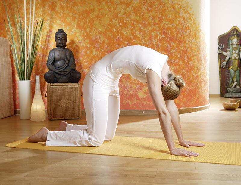 Bild zu Yoga-Übung