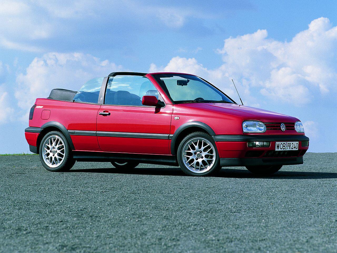 Bild zu VW Golf Cabrio