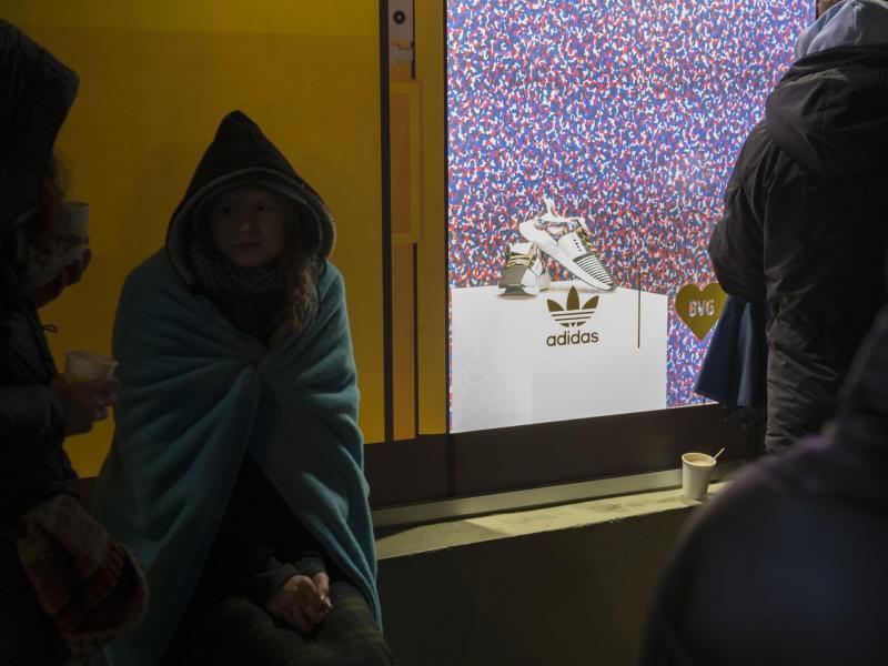 Bild zu Warten auf den BVG-Schuh