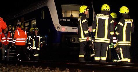 Zugausfälle nachSturm in Norddeutschland